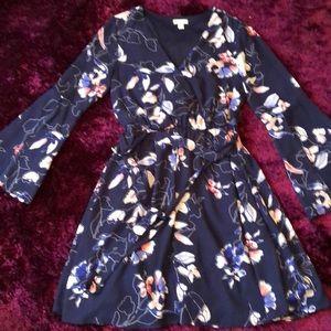 Floral dress size 2
